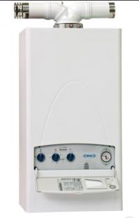 Настенный газовый котел закритой камерой сгорания и с горелкой атмосферного типа