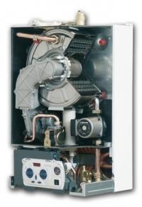Котел конденсационного типа с вторичным теплообменником с накоплением воды